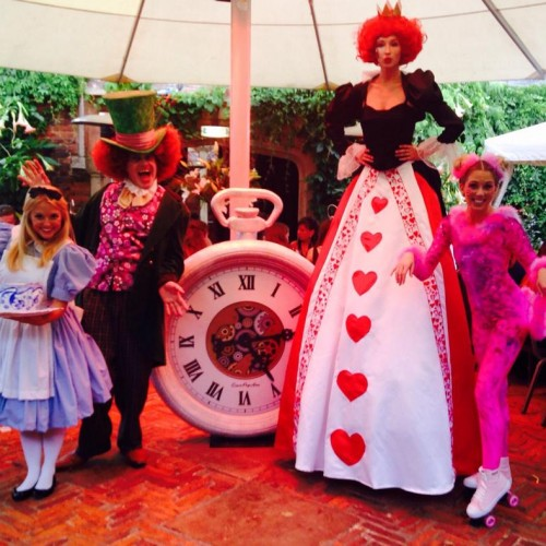 Bensons Agency Alice in Wonderland Themed Private Birthday Party