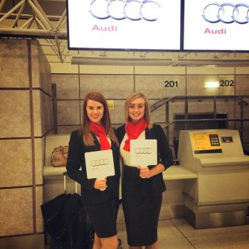 Audi Airport Hostesses Bensons Agency