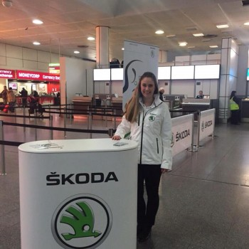 Skoda Airport Hostesses Bensons Agency