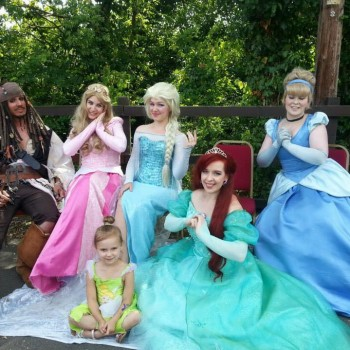Childrens Entertainers Disney Princesses