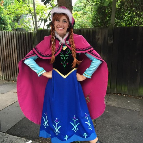 Costume Characters Princess Anna from Disney's Frozen