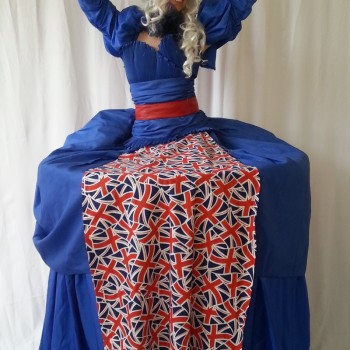Union Jack Human Table Bensons Agency