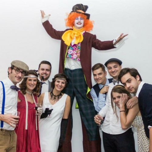 Bensons Agency Mad Hatter Themed Private Party