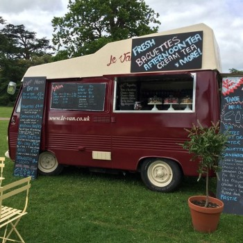 Pop Up Food Van Bensons Agency