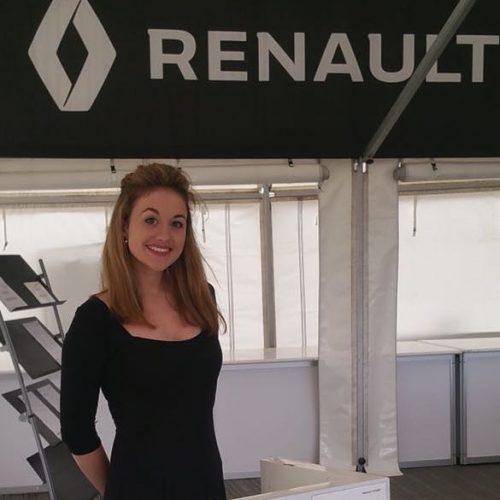Renault UK hostess