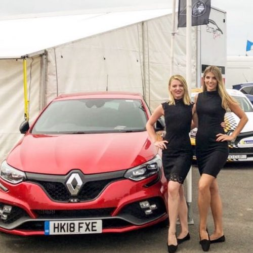 Renault Clio Cup 2018 promotional models