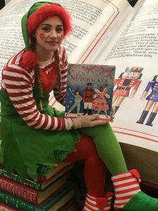Christmas grotto character