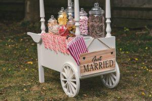 Vintage Sweet Cart - Just Married