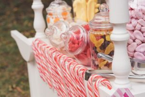 Vintage sweets and vintage candy