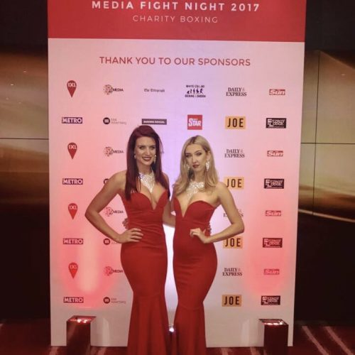 ring girls charity fight night