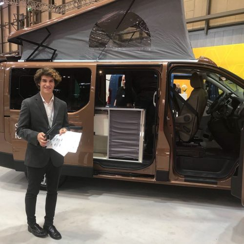 Benson's brand ambassadors supporting Renault at CVS Show 2018