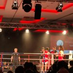 Fight Night ring girl and hostesses - White Collar Boxing