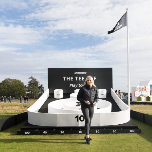 Bridgestone's immersive experience at the British Open 2018